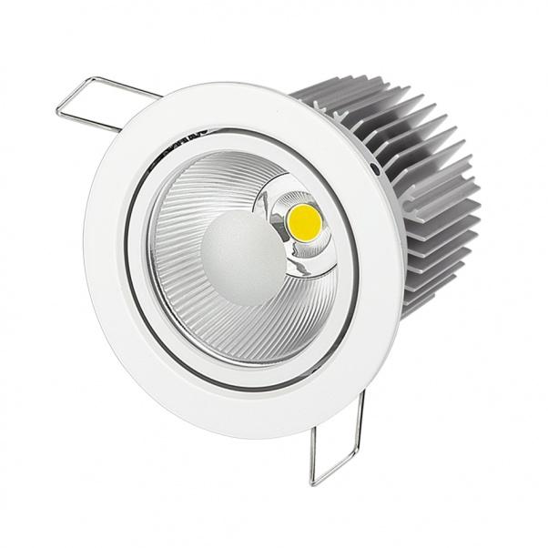 COB LED abajo se enciende, COB llevó luminarias, COB fabricante abajo de luz, COB fábrica abajo de luz, luz de techo COB