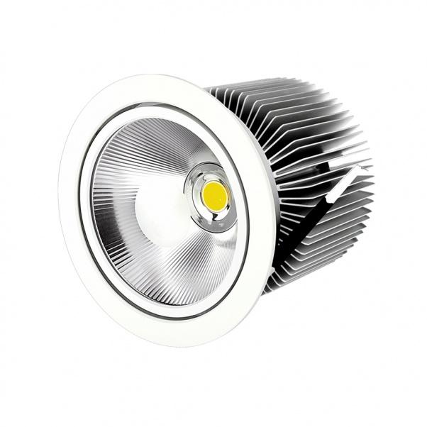 COB abajo luz, luz de techo llevada, COB LED abajo se enciende, COB SHARP llevado abajo de luz, Por luz