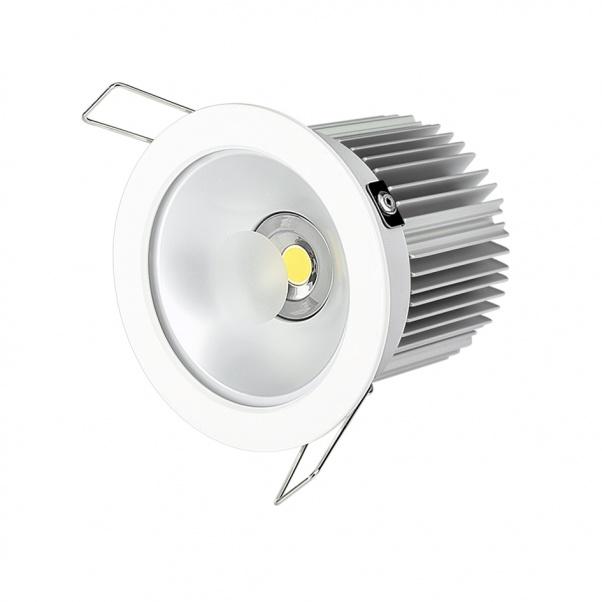 COB Down Light, Super valor abajo de luz, luz de aluminio hacia abajo, la luz de plástico hacia abajo, luz llevada del punto