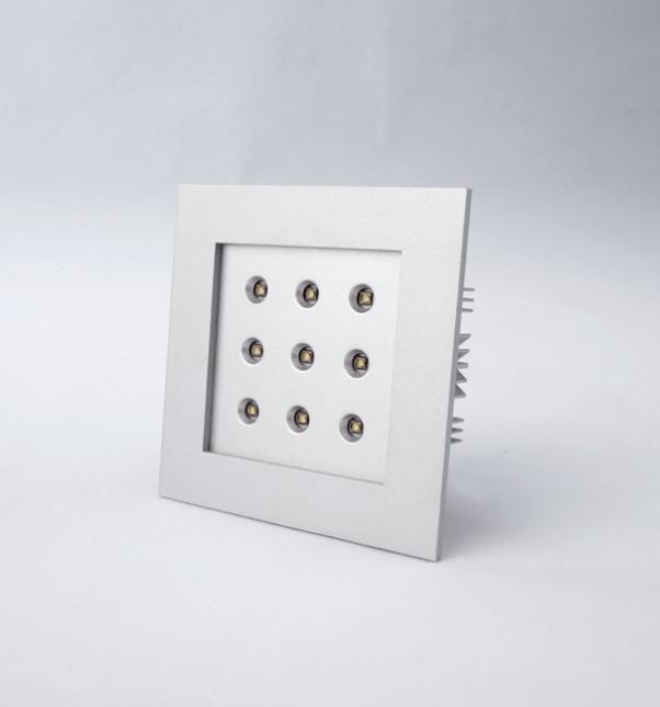 Rejilla abajo se enciende, Tres cabezas abajo se enciende, Dos cabezas gachas luz, LED de cuadrícula abajo de luz, Cuadrícula abajo luz fabricante