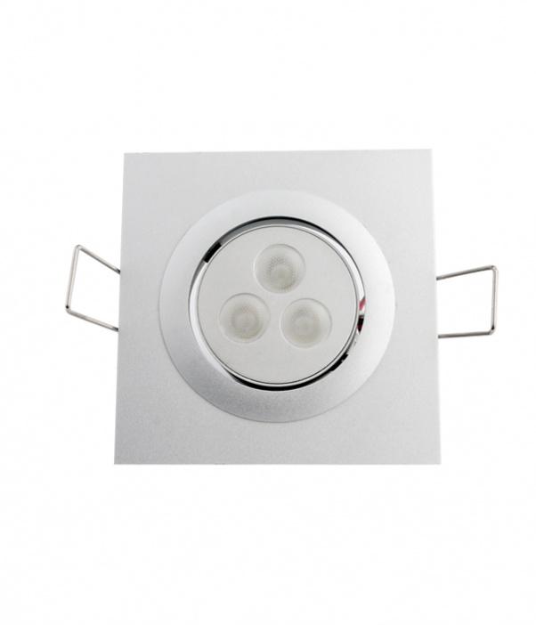 Abajo luz, Tres cabezas gachas ligeras, LED cuadrícula abajo de luz, red de la luz hacia abajo, doble cabeza baja luz