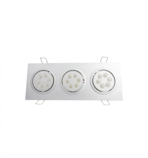Rejilla abajo fábrica luz, LED de cuadrícula abajo de luz, Cuadrícula abajo fabricante luz, la luz hacia abajo, Dos cabezas gachas luz