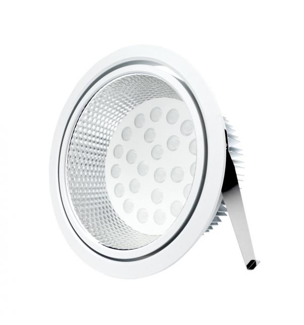 ángulo de haz de luz, luz propia con fuente de alimentación integrada, luz del panel redonda, ángulo de haz ancho angleam