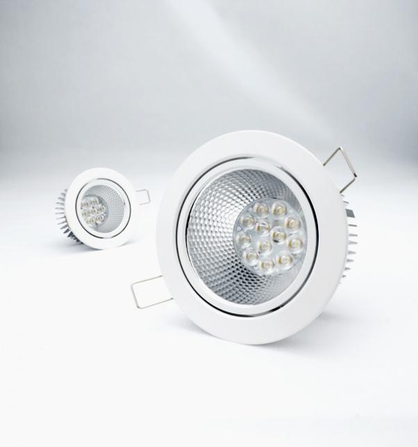ángulo de haz de luz, luz propia con fuente de alimentación integrada, luz del panel redonda, ángulo de haz ancho
