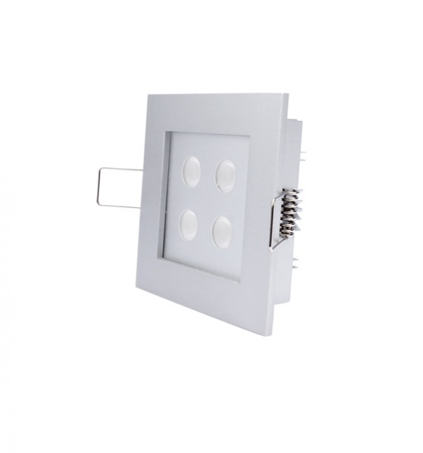 LED abajo se enciende rejilla, rejilla abajo de luces, doble cabeza baja luz, la luz hacia abajo, Cuadrícula abajo light fábrica