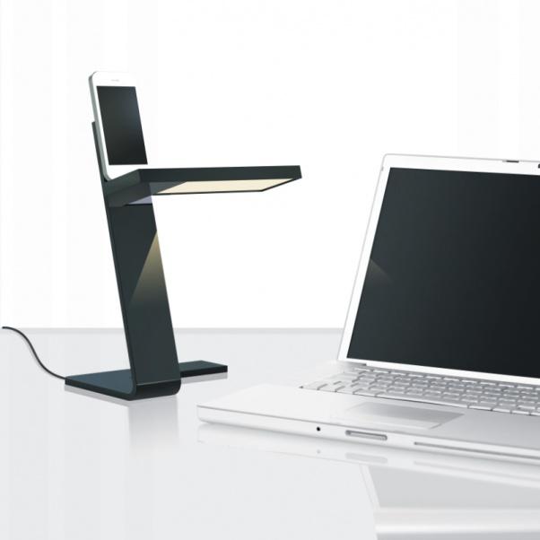 Mesa de luz, leyendo la luz, luz de la mesa plegable, ligero ordenador, luz de lectura LED