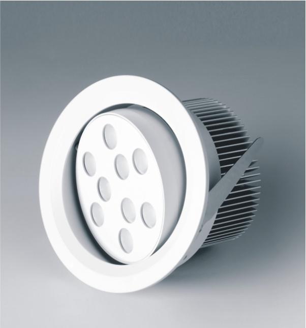 Luz del punto, punto de la fábrica de luz, focos LED, luz del punto, abajo luz