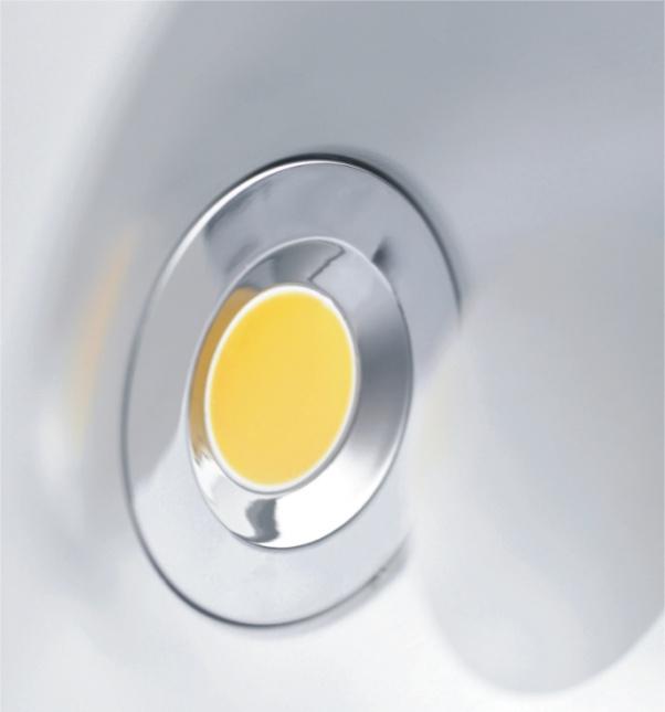 COB abajo se enciende, COB llevó luminarias, iluminación Led Gabinete, Led luces del gabinete, Super valor abajo de luz