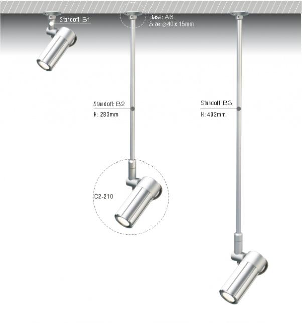 Techo del LED, COB abajo de luz, luz de techo COB, luz COB, la COB abajo luces