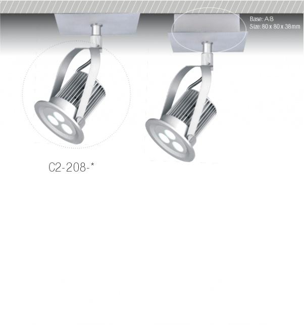 COB abajo light fabricante, COB abajo fábrica de luz, Por luz, luminaria empotrada LED, Foco