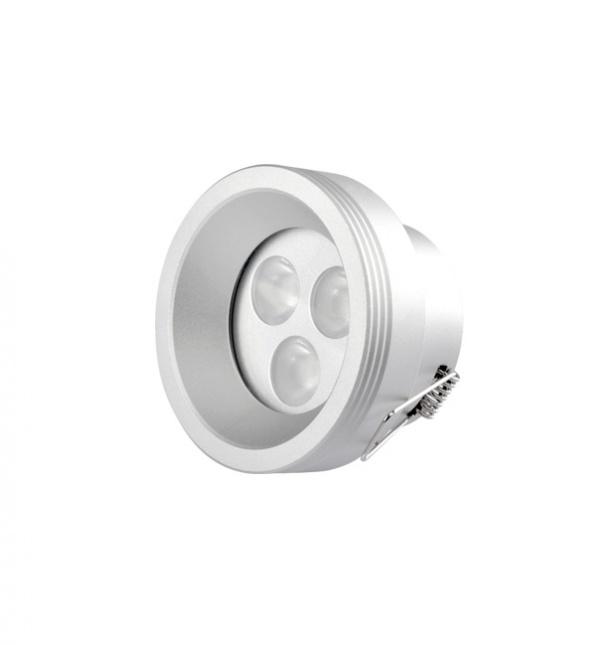 La luz del punto, iluminación LED, punto abajo se enciende, luz de techo, luz del punto de la fábrica