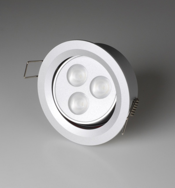 Por luz, punto abajo se enciende, las luces del punto del LED, luz del punto de la fábrica, fábrica de luz Led spot