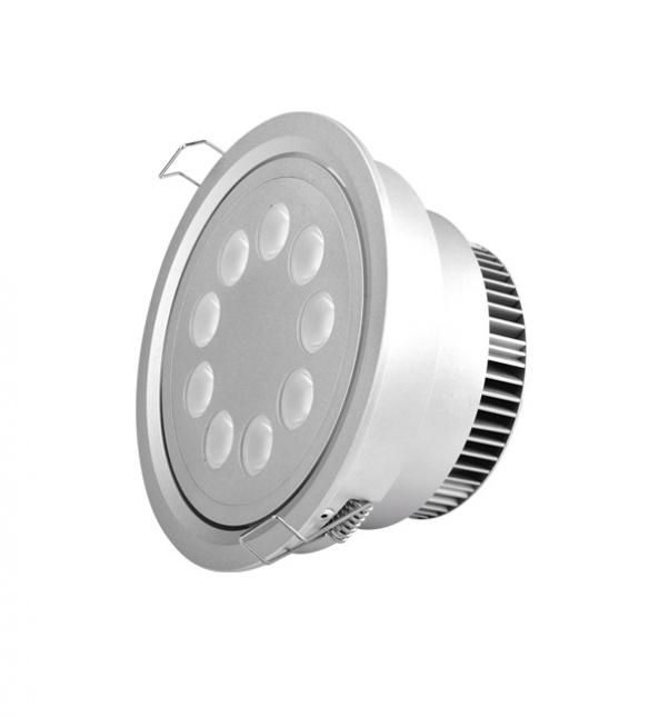 Punto abajo se enciende, luz de techo, luz hacia abajo, la luz del punto, las luces del punto del LED